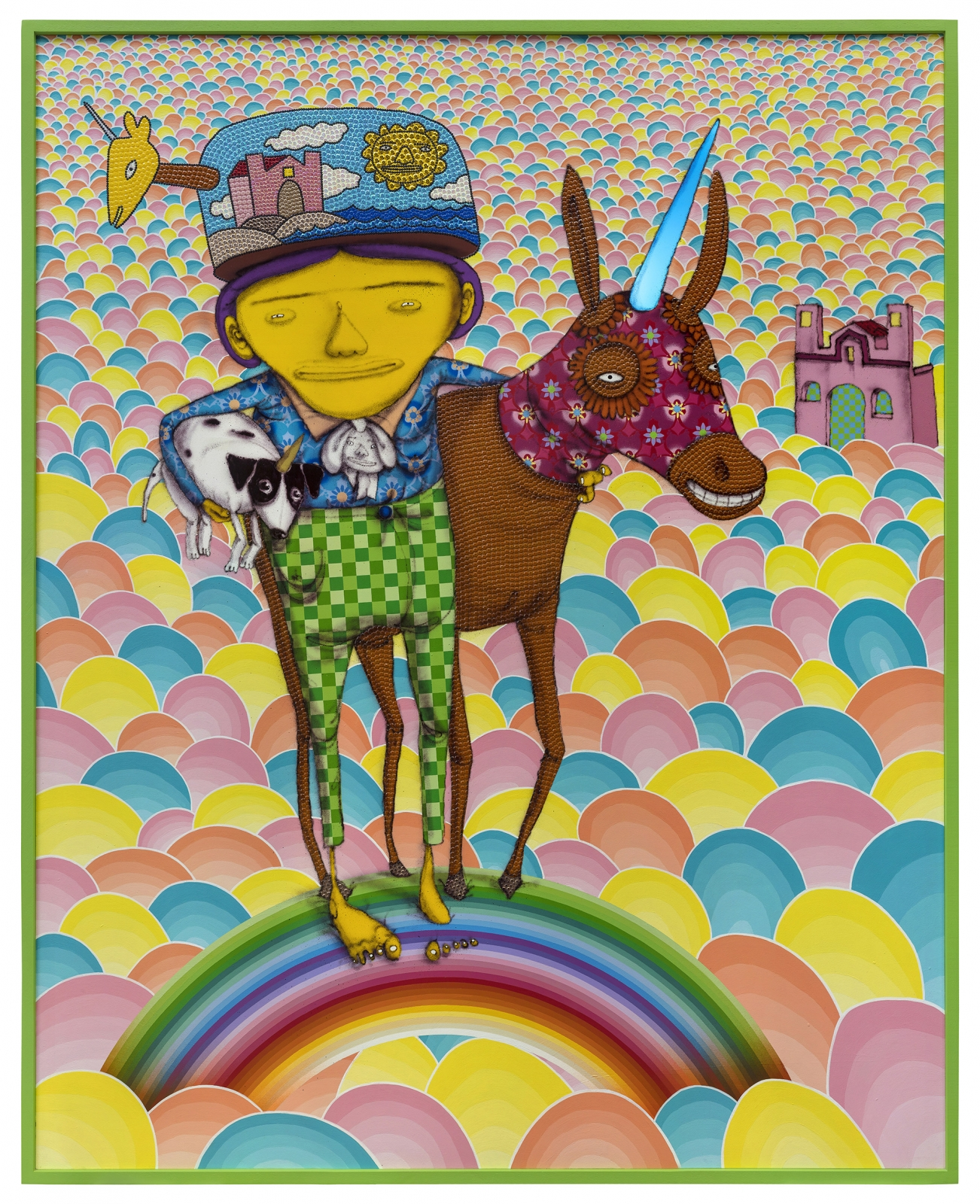 OSGEMEOS, Someone to share the dreams, 2018