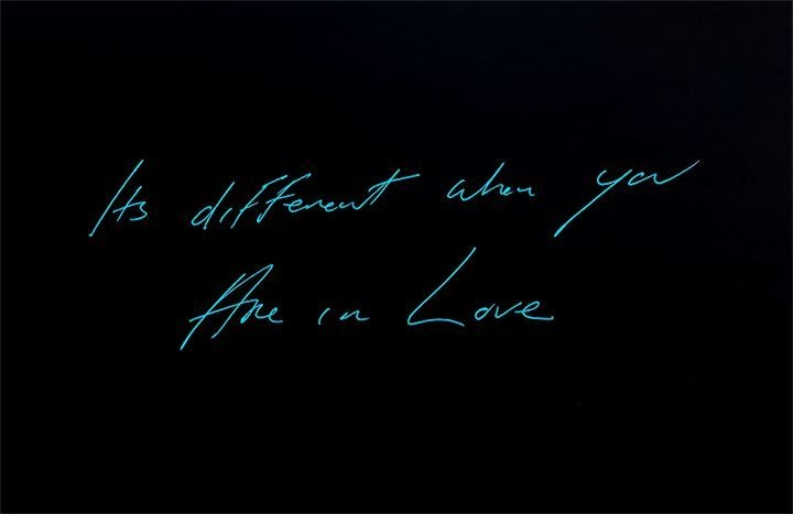 TRACEY EMIN Its different when you Are in Love, 2016