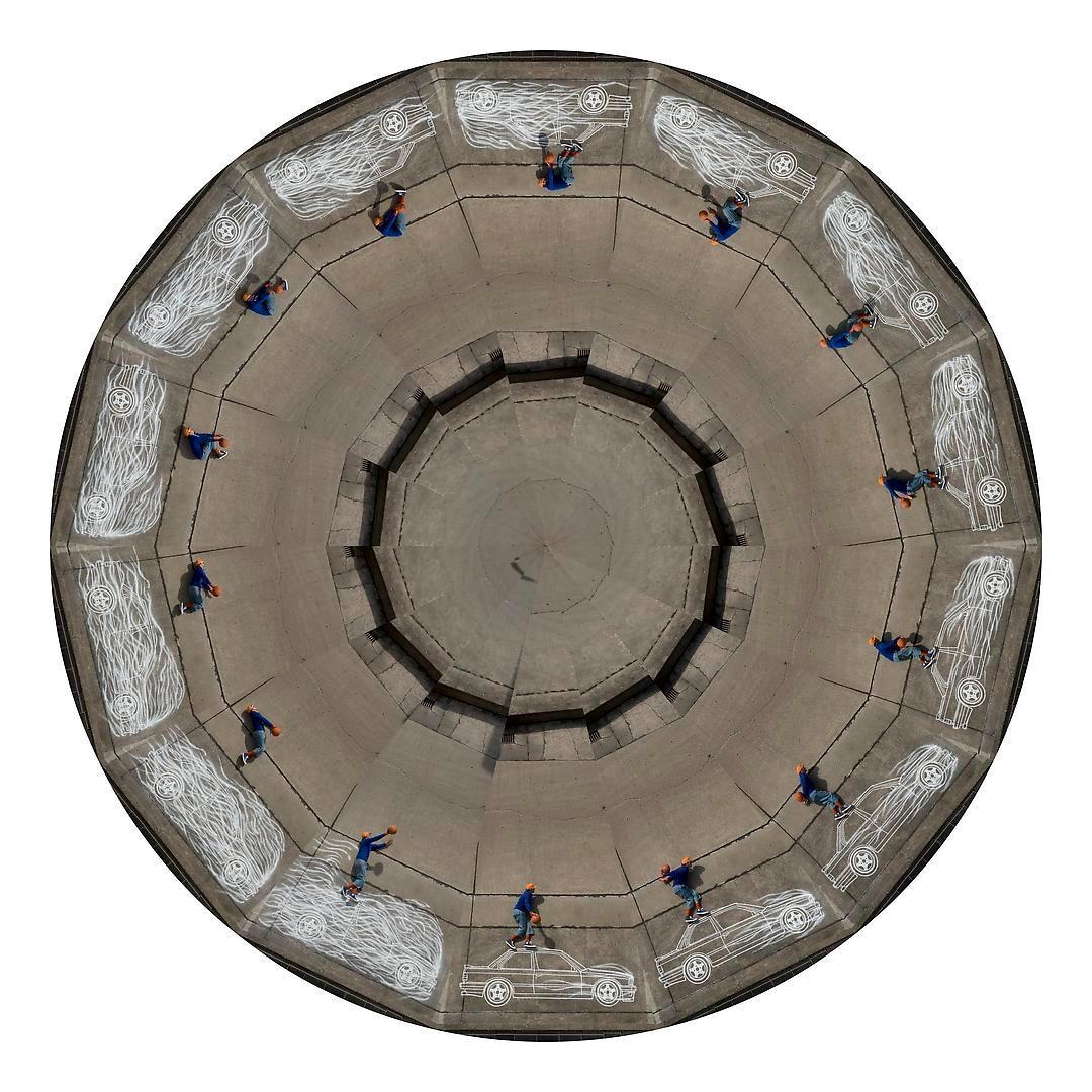 ROBIN RHODE Untitled, (Zootrope), 2012-2013