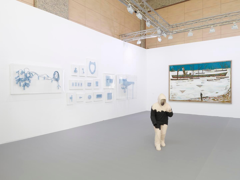 ArtInternational Installation view, Booth C15