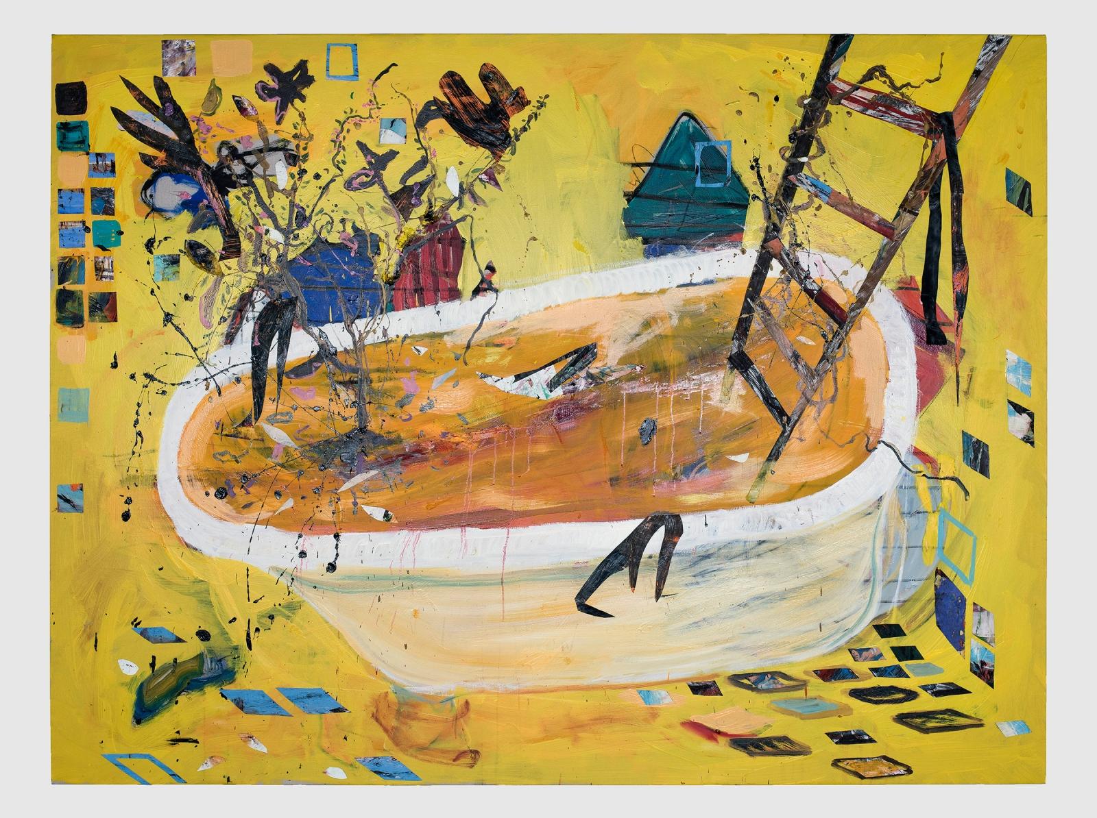 ANGEL OTERO, Painter's Bath, 2020