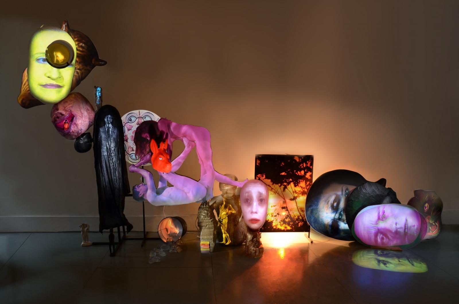 TONY OURSLER, Bound Interrupter, 2012