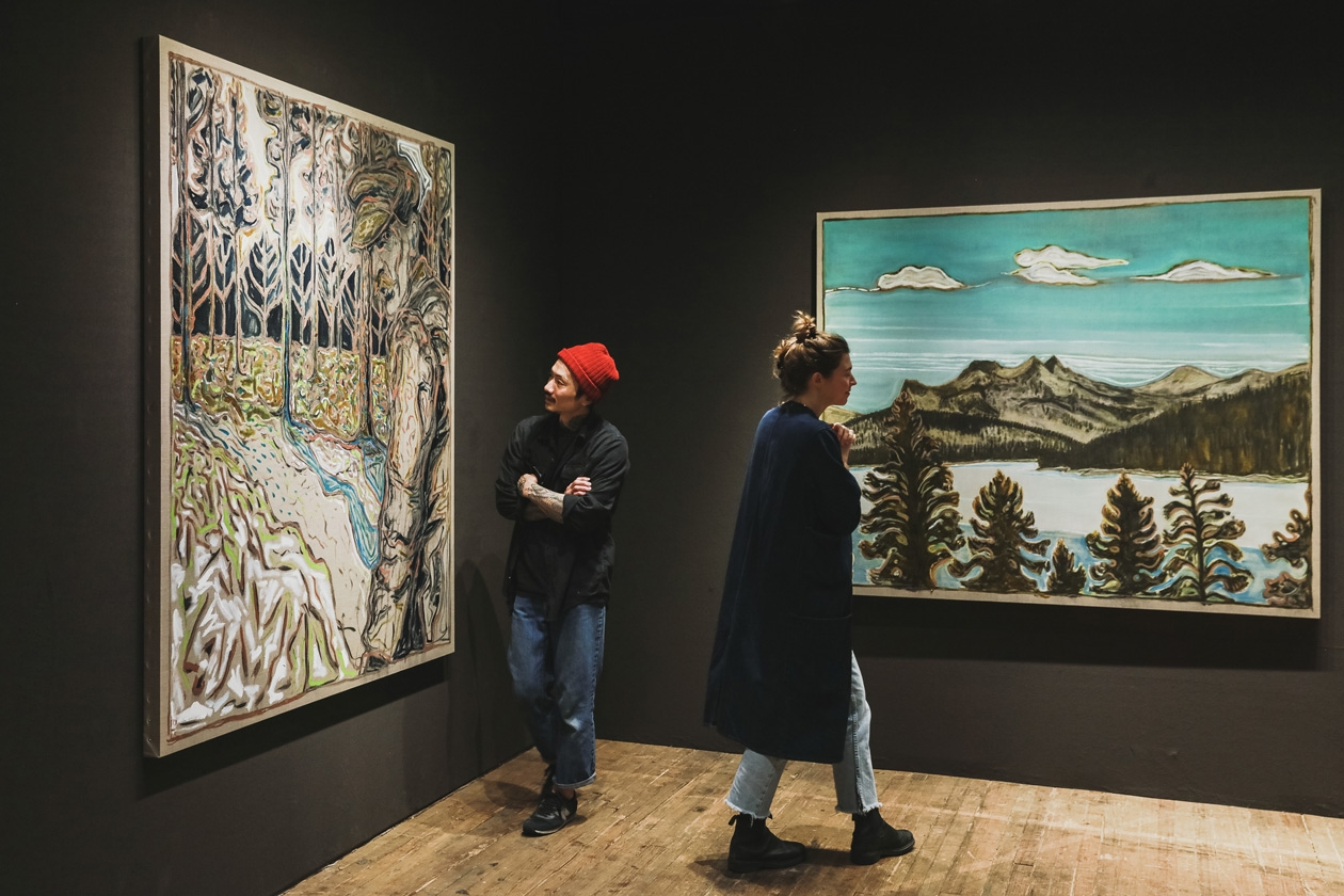 Installation view, ADAA: The Art Show, 2017, Park Avenue Armory, New York