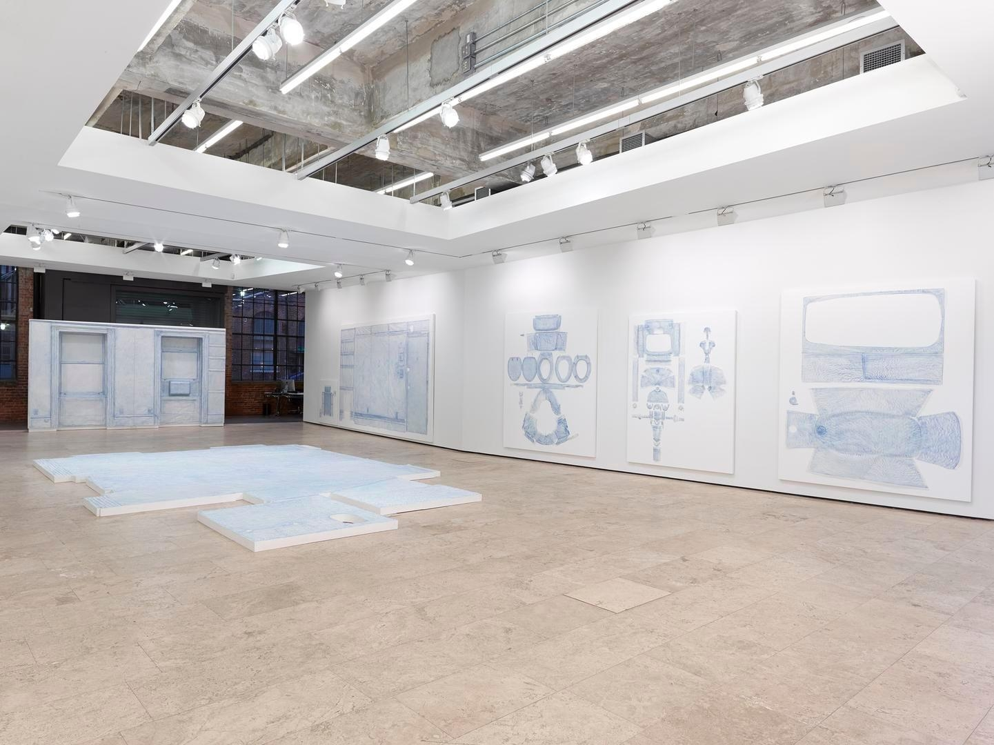 Drawings Installation view 2