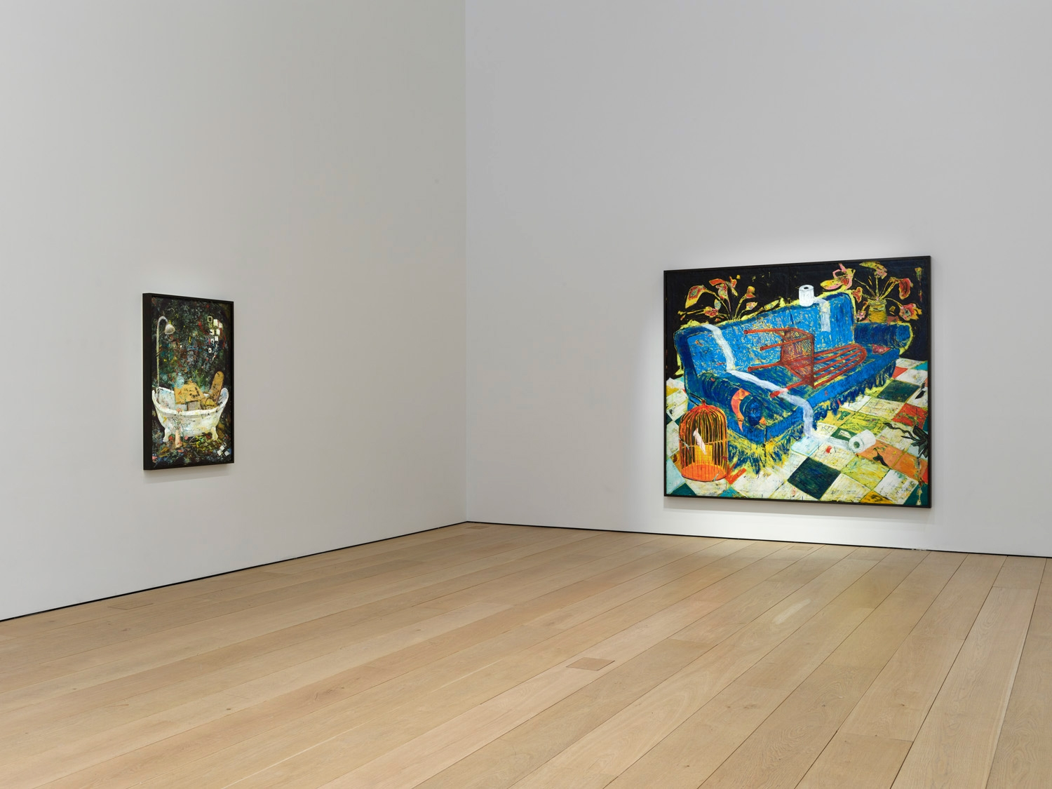 Seventh installation view of the exhibition Angel Otero: The Fortune of Having Been There at Lehmann Maupin in New York