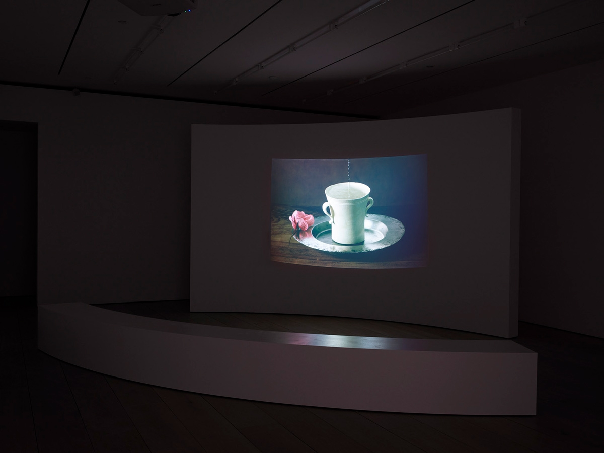 BehindA Cup and A Rosewith Shirazeh Houshiary