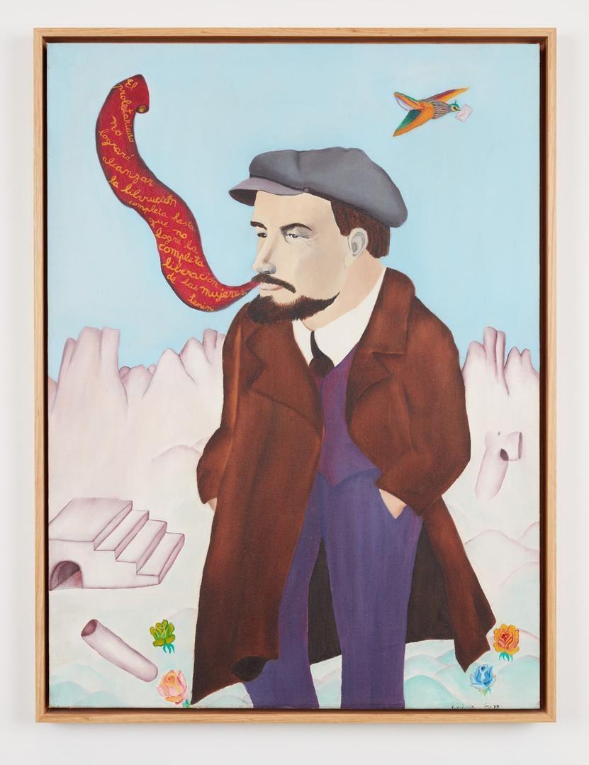 CECILIA VICUÑA Lenin, 1972