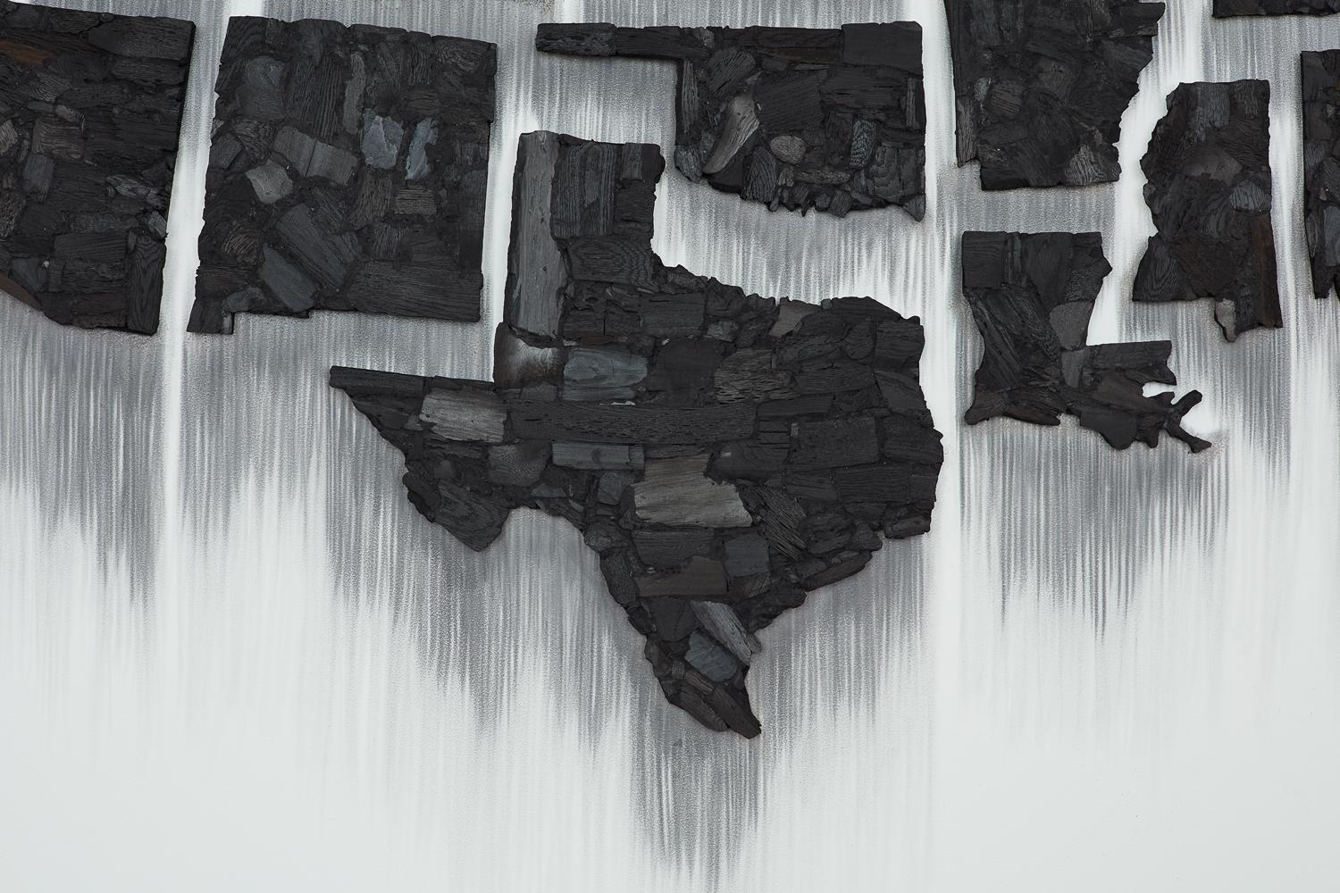 TERESITA FERNÁNDEZ Fire (United States of the Americas), (detail)2017