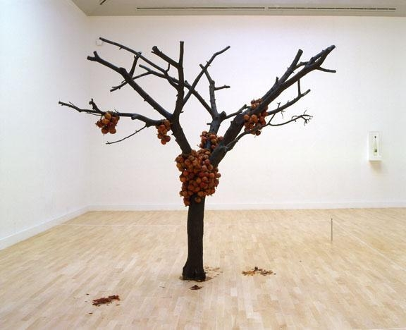 ANYA GALLACCIO because I could not stop, installation view