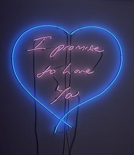 TRACEY EMIN I promise to love you, 2010
