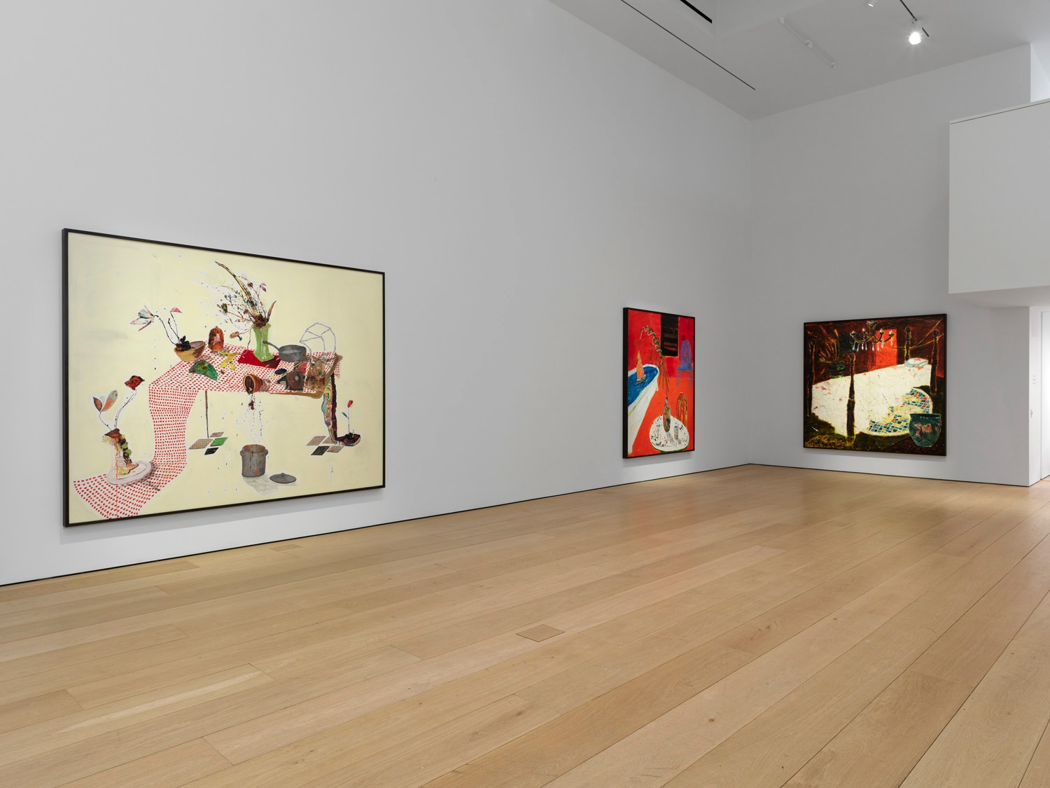 Fourth installation view of the exhibition Angel Otero: The Fortune of Having Been There at Lehmann Maupin in New York