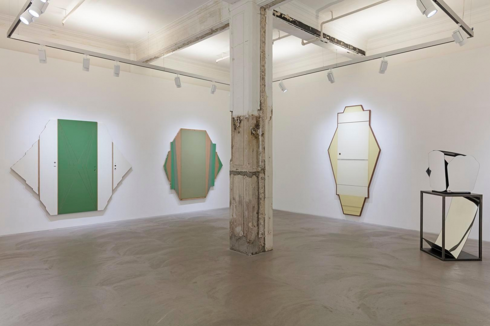 Radical Materiality installation view 1