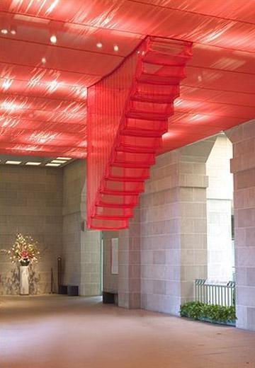 Staircase-IV, 2004 Installation at Arthur M. Sackler Gallery, Washington D. C.