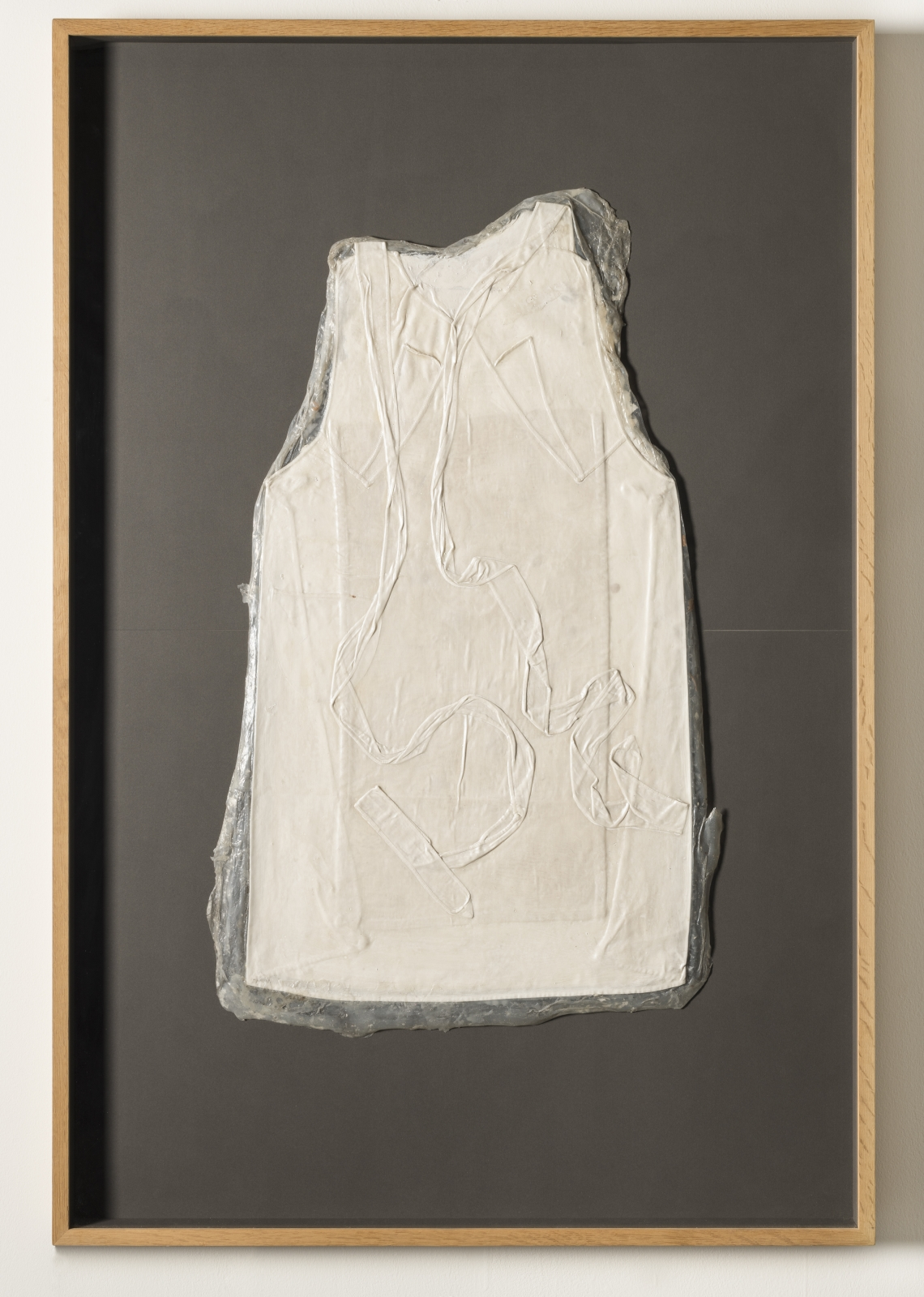HEIDI BUCHER Untitled (Kuchenschurze / White Apron), ca. 1975