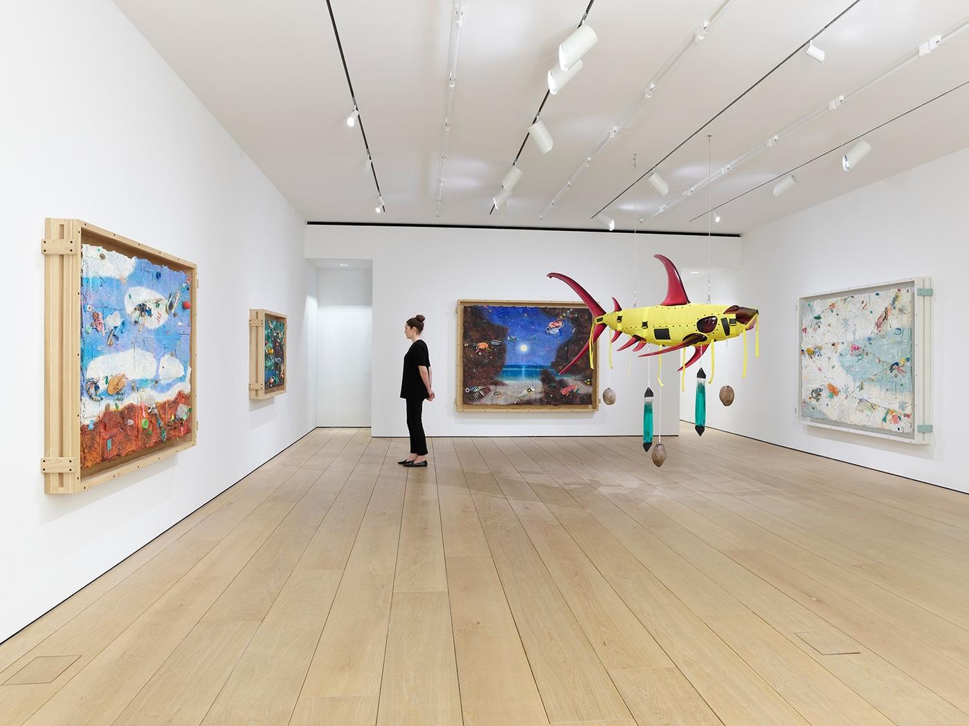 In Focus: Ashley Bickerton, Installation view, New York