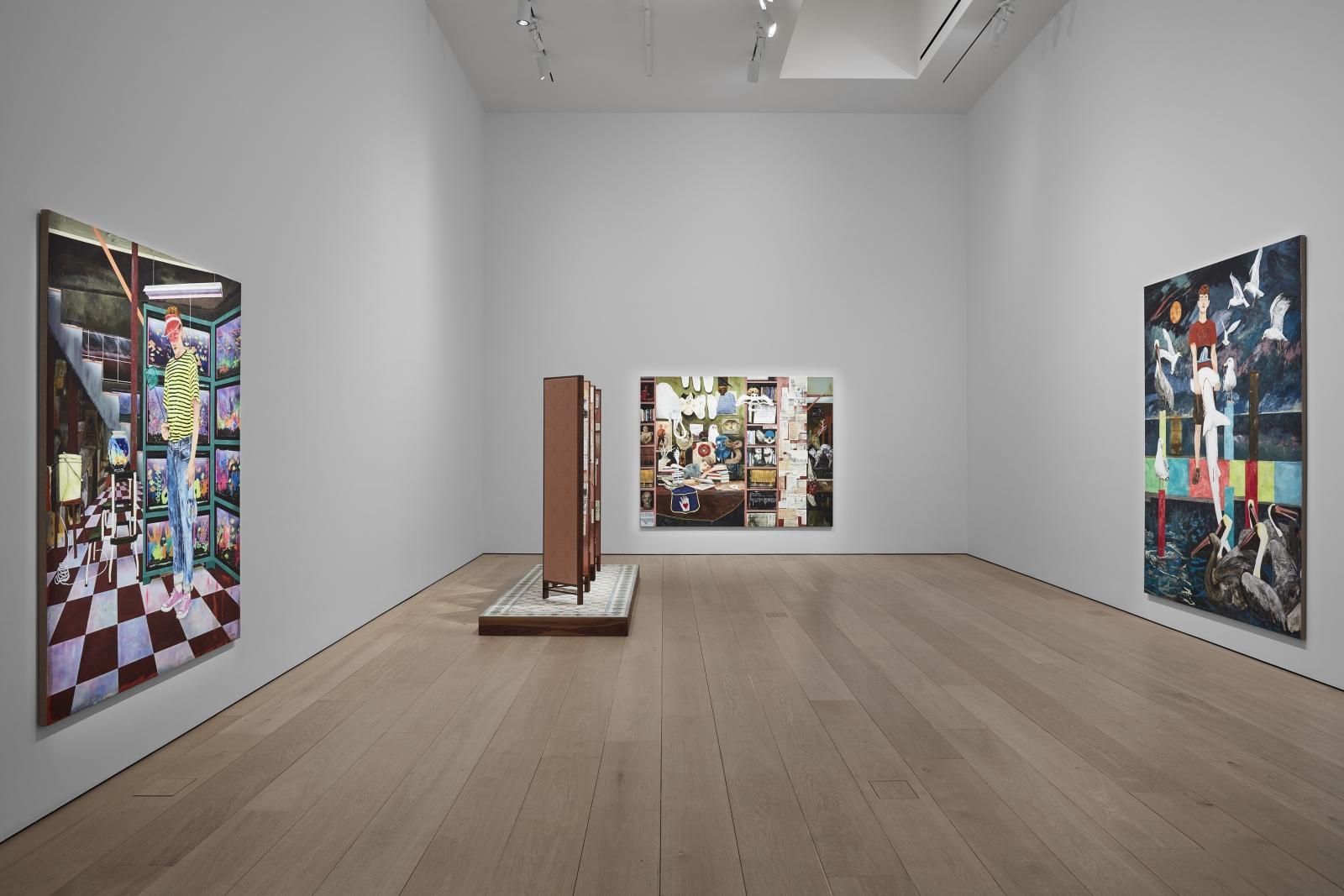 Hernan Bas, TIME LIFE  Installation view 3