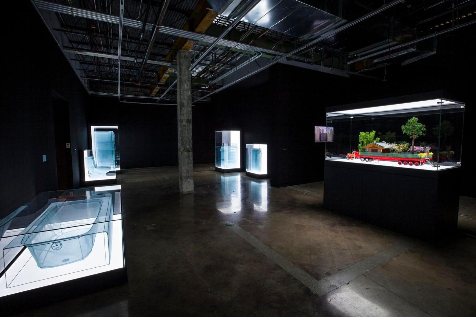 Installation view, Do Ho Suh, The Contemporary Austin – Jones Center