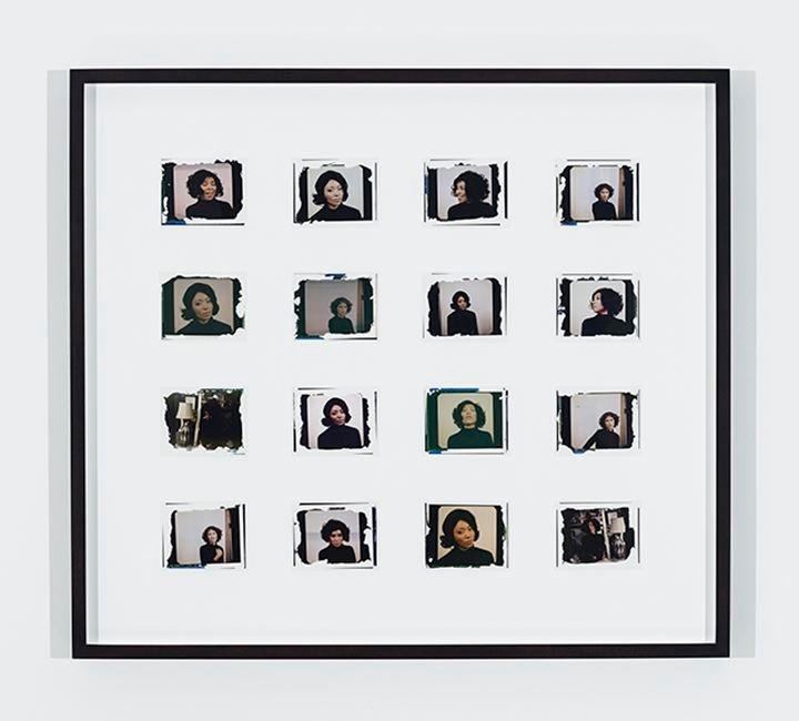 MICKALENE THOMAS Polaroid Series #10, 2016