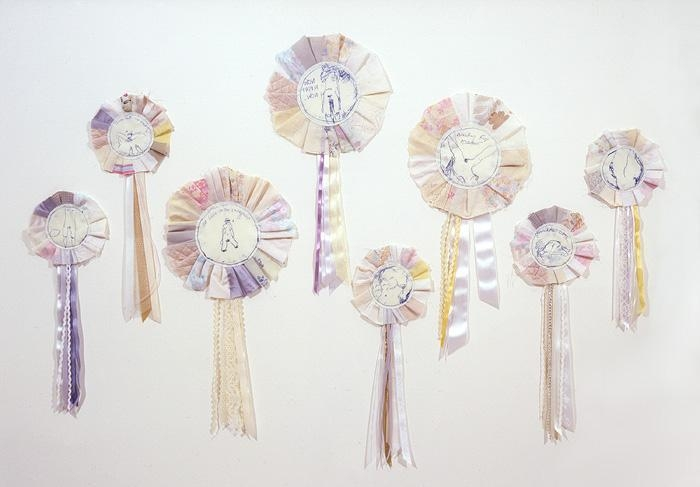 TRACEY EMIN to be titled (8 rosettes), 2007