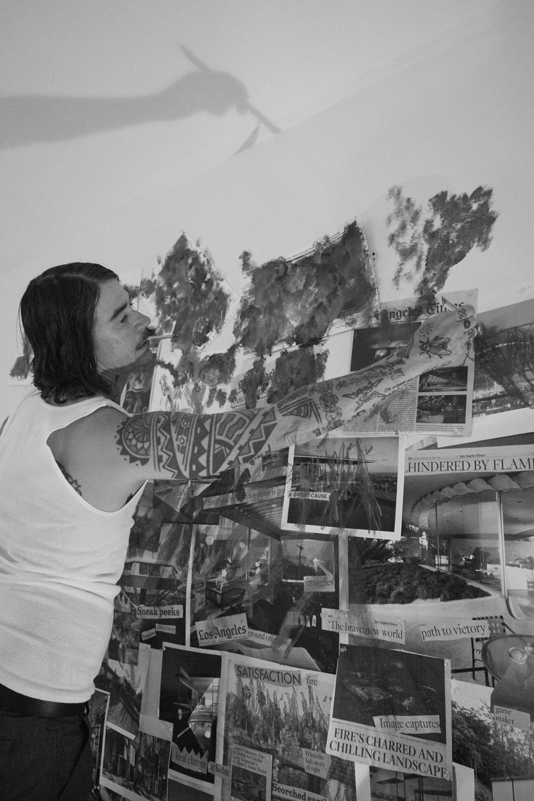 CATHERINE OPIE, Artist #2 (The Modernist), 2016