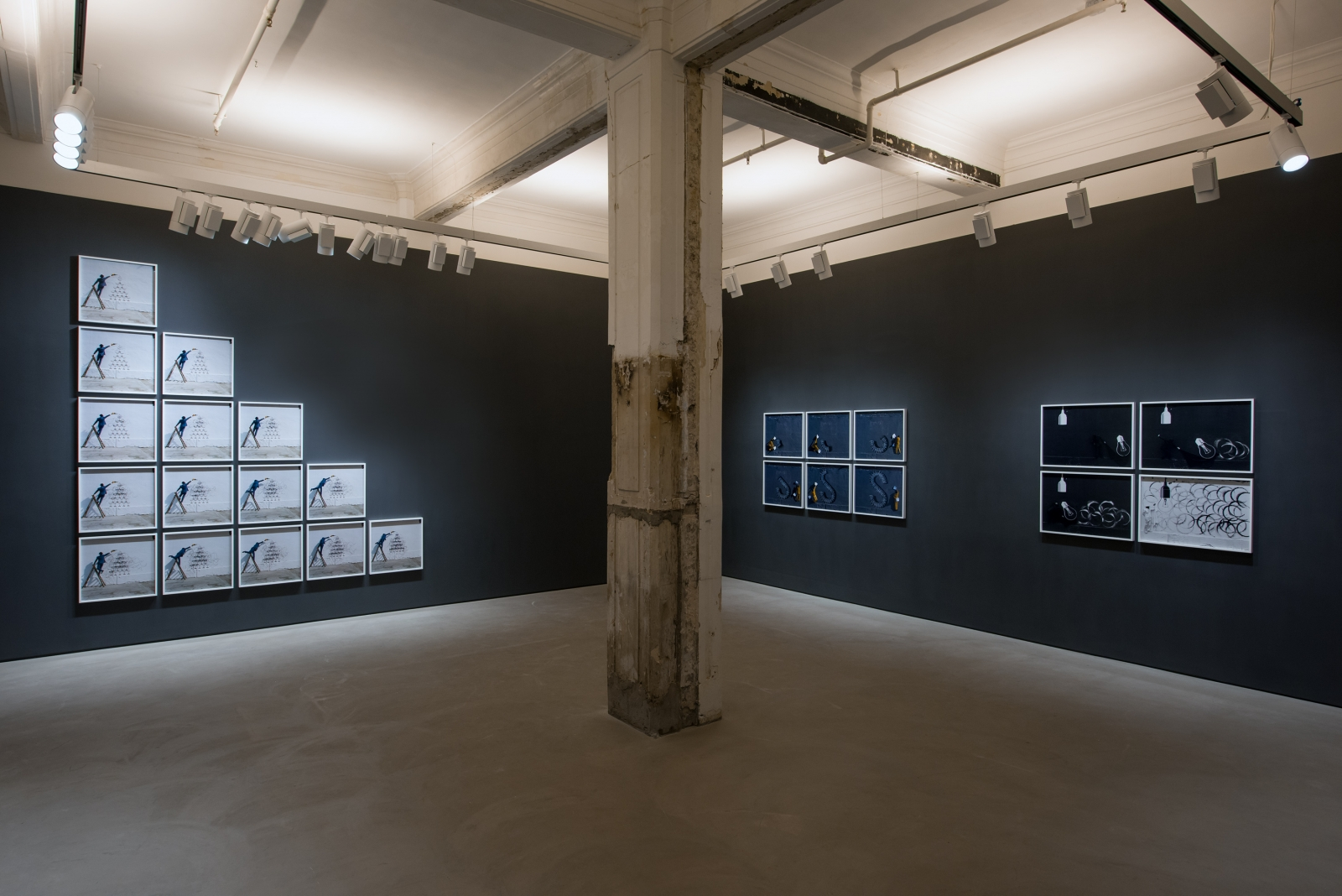 ROBIN RHODE, having been there, Installation view