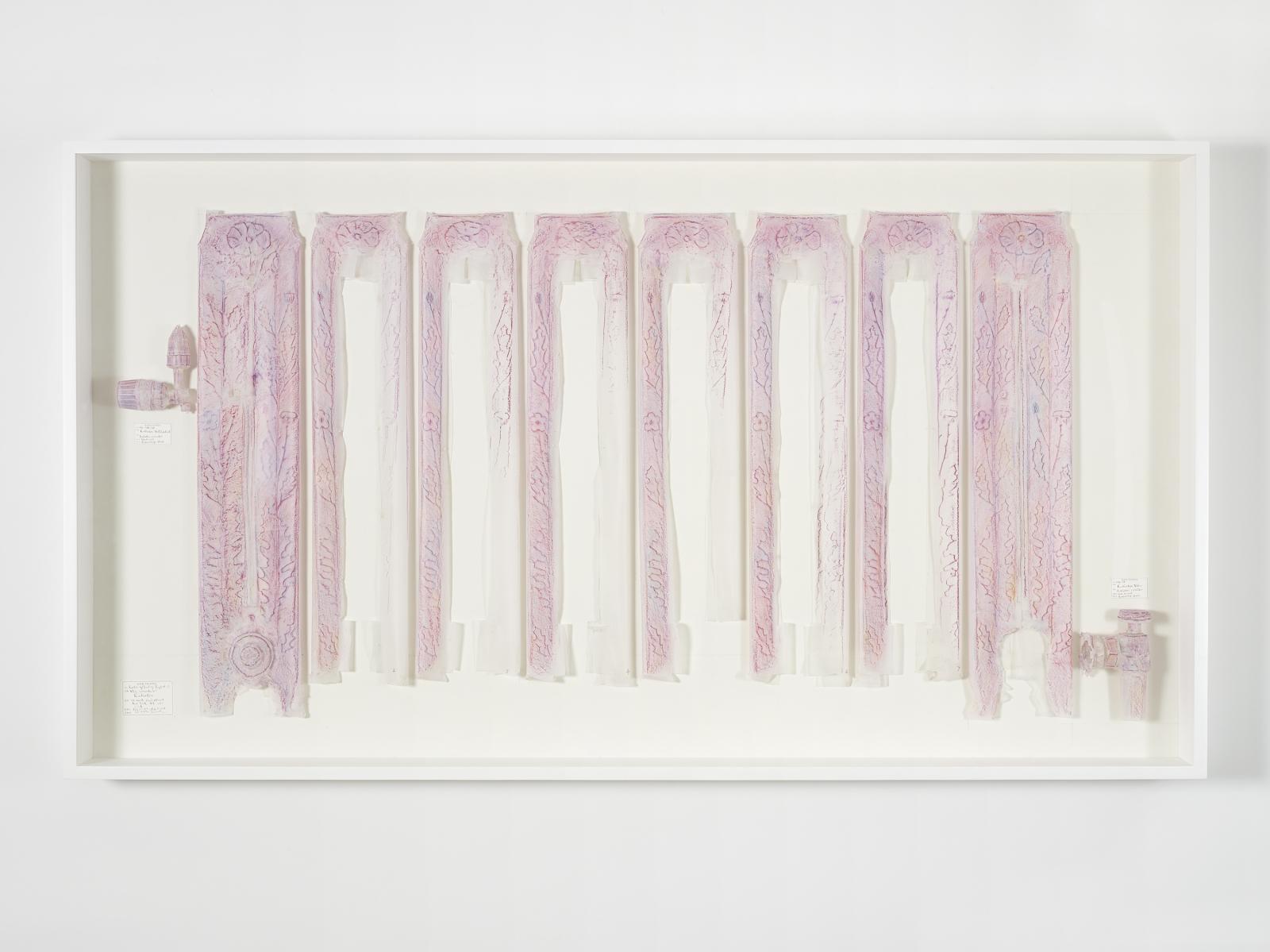 DO HO SUH, Rubbing/Loving Project: Radiator, Corridor, 348 West 22nd Street, New York, NY 10011, USA, 2014