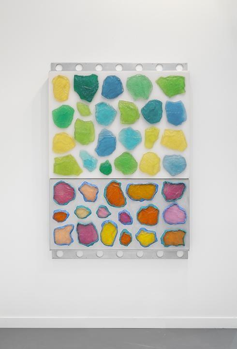 ASHLEY BICKERTON, Wall-Wall No. 18 (Clear/Silver), 2015