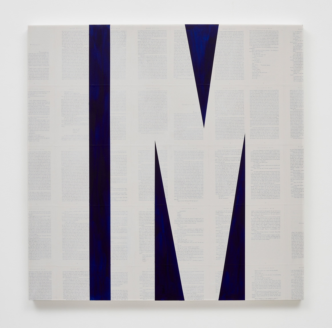 TIM ROLLINS and K.O.S., Invisible Man (after Ralph Ellison), 2014