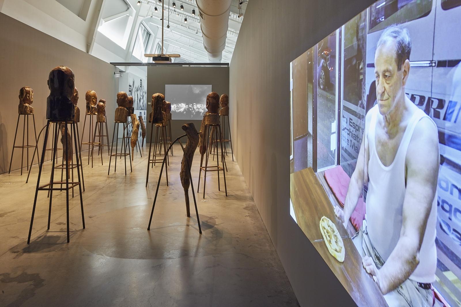 Kader Attia / MATRIX 274 Installation View 6.