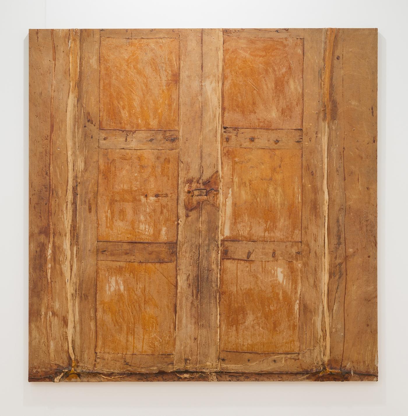 HEIDI BUCHER, Untitled (Puerta beige grande / Large beige door), 1986