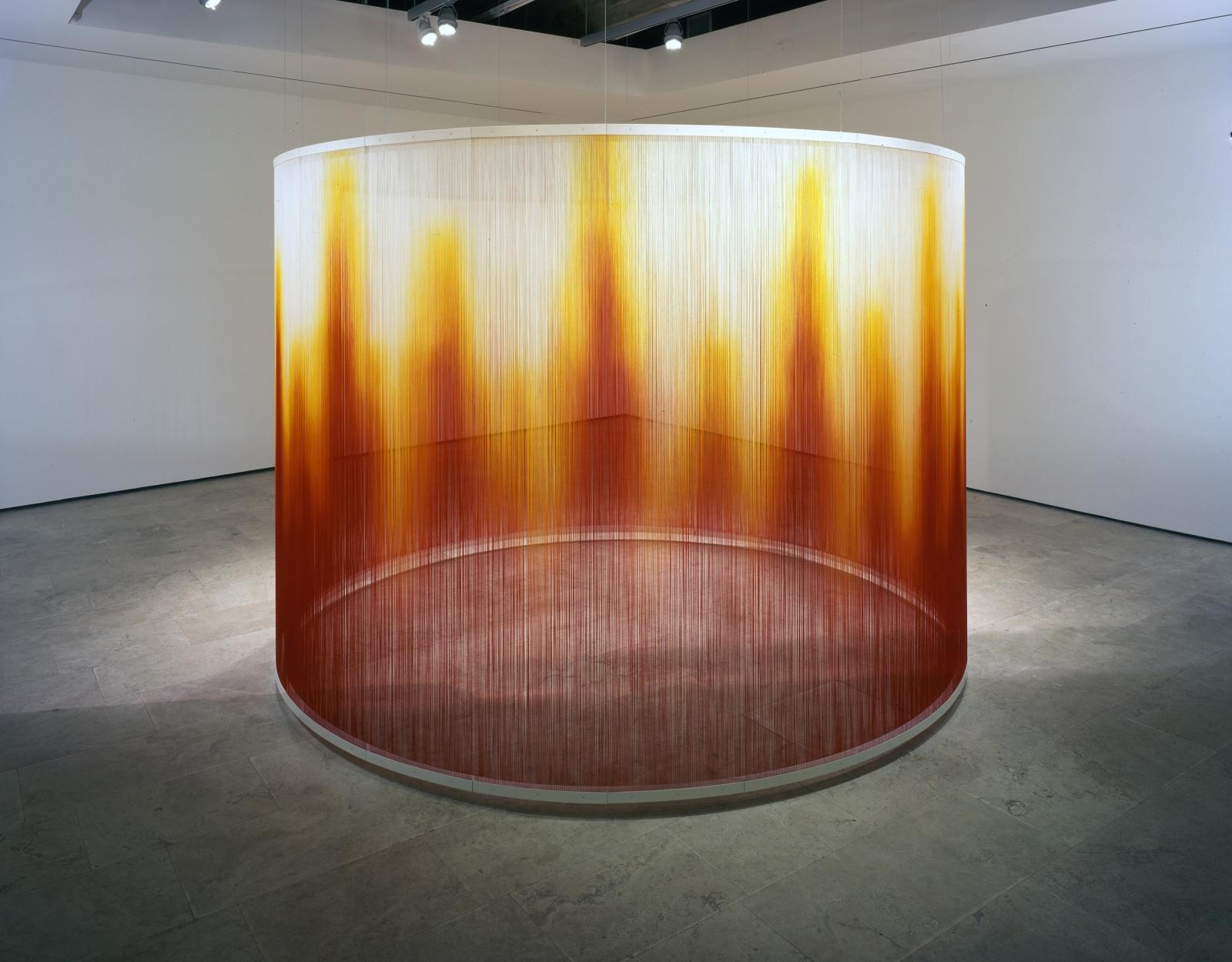 TERESITA FERNANDEZ Installation at Lehmann Maupin Gallery View 1.