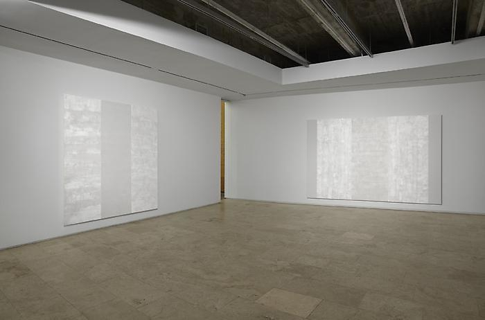 Mary Corse New Work Installation View 2