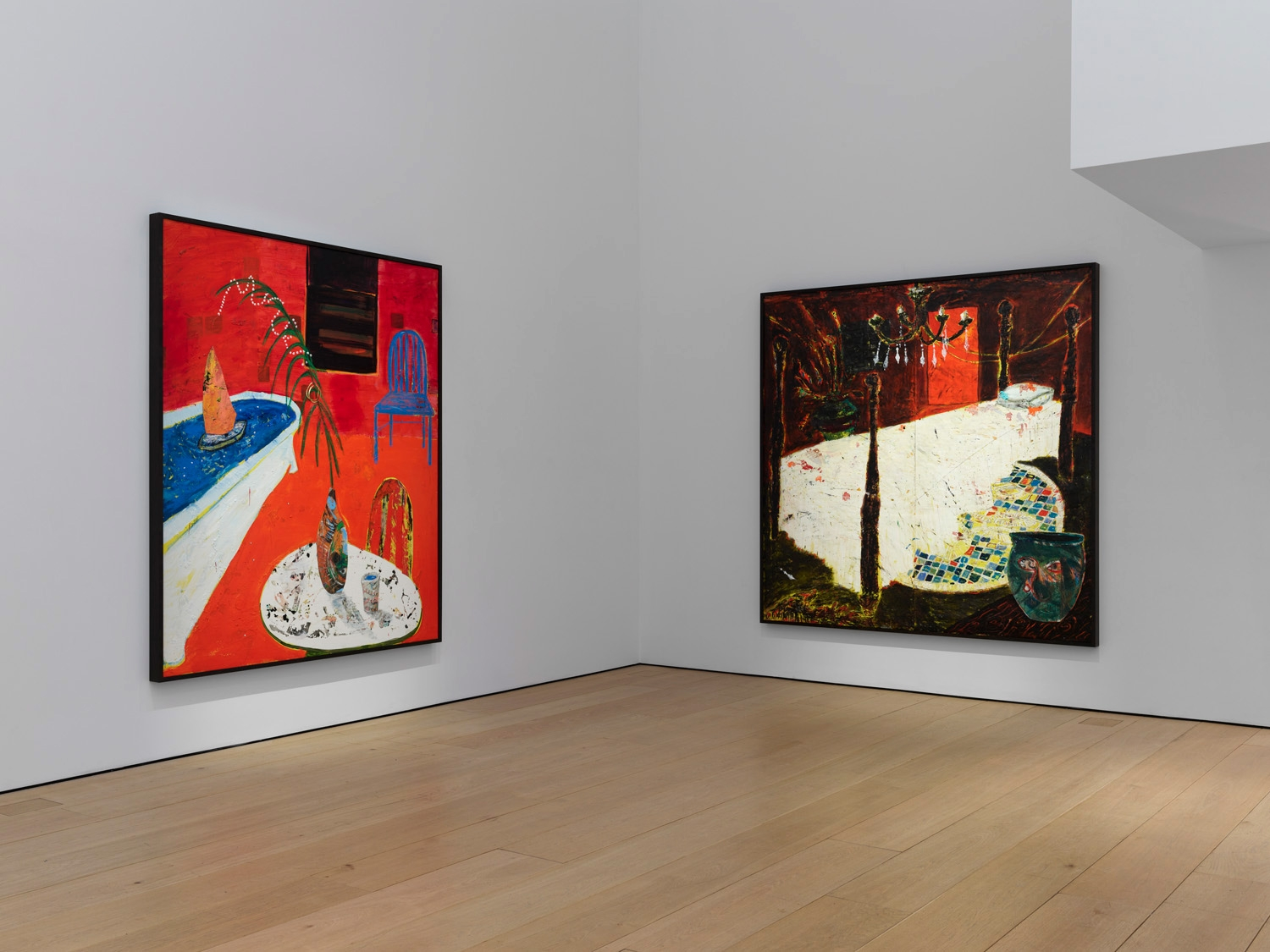 Eighth installation view of the exhibition Angel Otero: The Fortune of Having Been There at Lehmann Maupin in New York