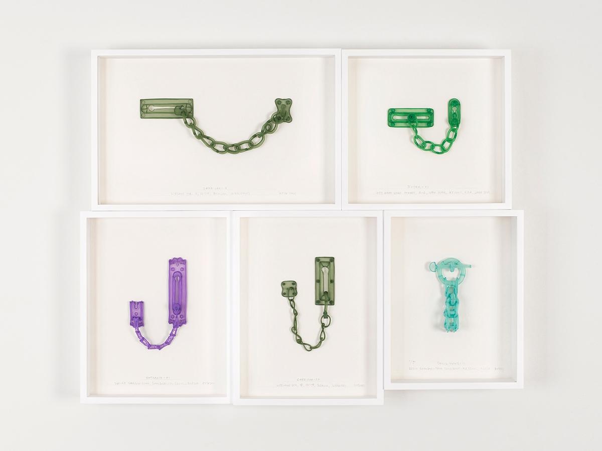 DO HO SUH, Chain Locks: Berlin, New York, Seoul Homes, 2021