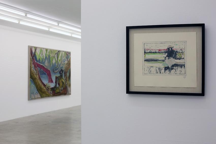 Installation view,Paintings Sweet Paintings, Neuer Aachener Kunstverein