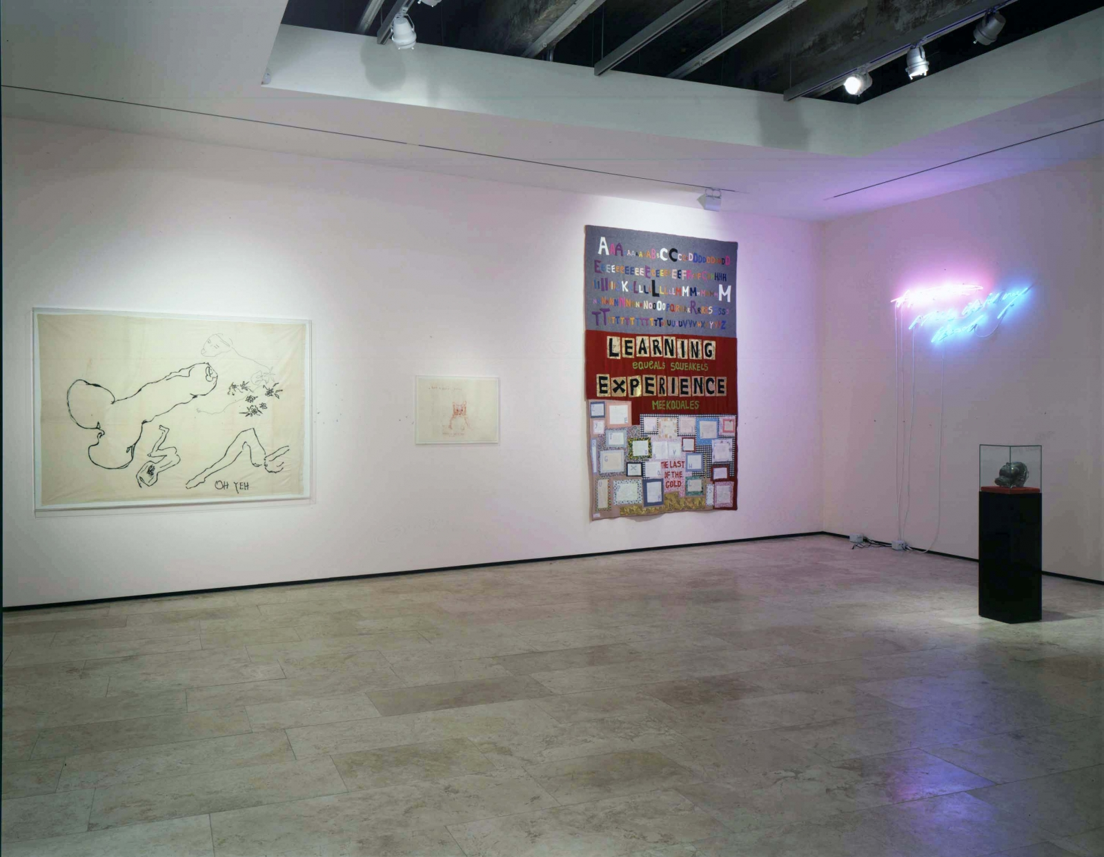 Tracey Emin: I Think It's In My Head Installation view, Lehmann Maupin Gallery 21 September - 19 October 2002 view 3
