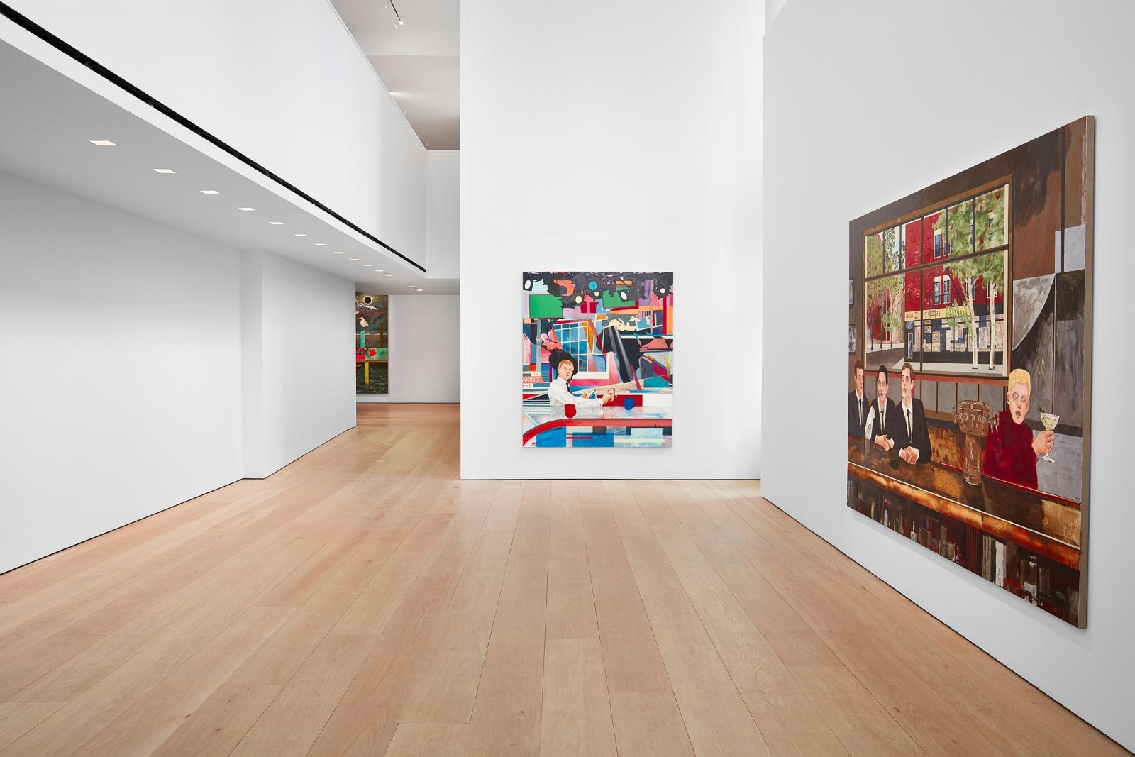 Hernan Bas, TIME LIFE  Installation view 1