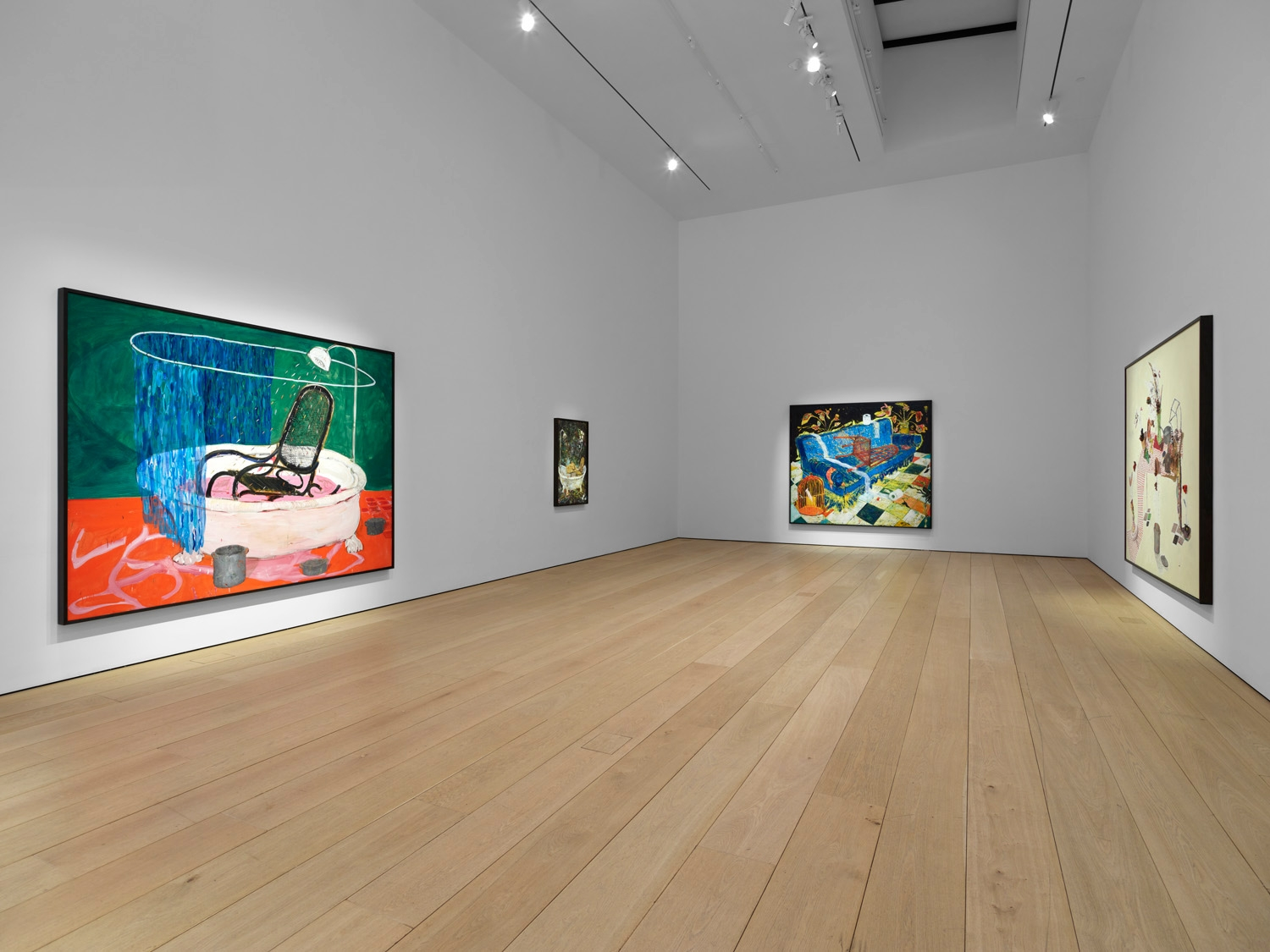 Third installation view of the exhibition Angel Otero: The Fortune of Having Been There at Lehmann Maupin in New York