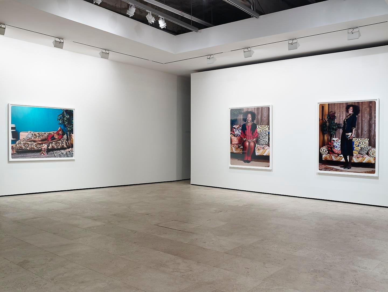 MICKALENE THOMAS: How to Organize a Room Around a Striking Piece of Art Installation view 1