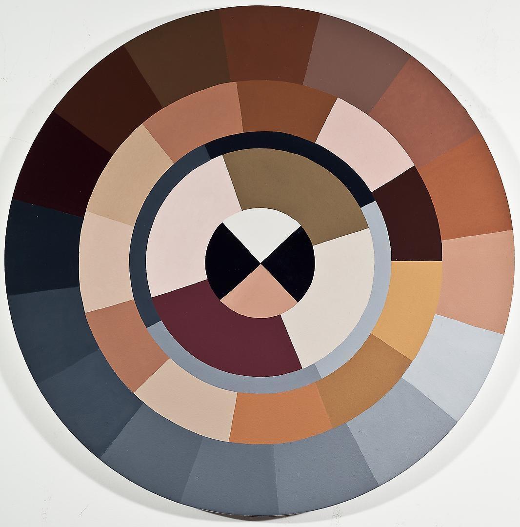 ADRIANA VAREJÃO Polvo Color Wheel II (Seascape Series), 2014