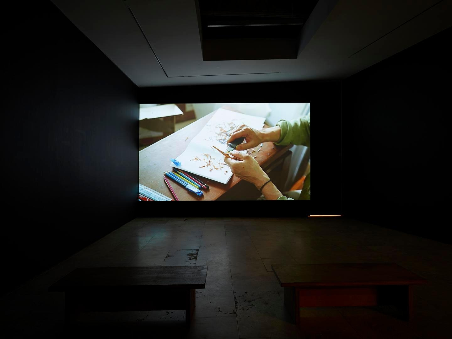 Drawings Installation view 4
