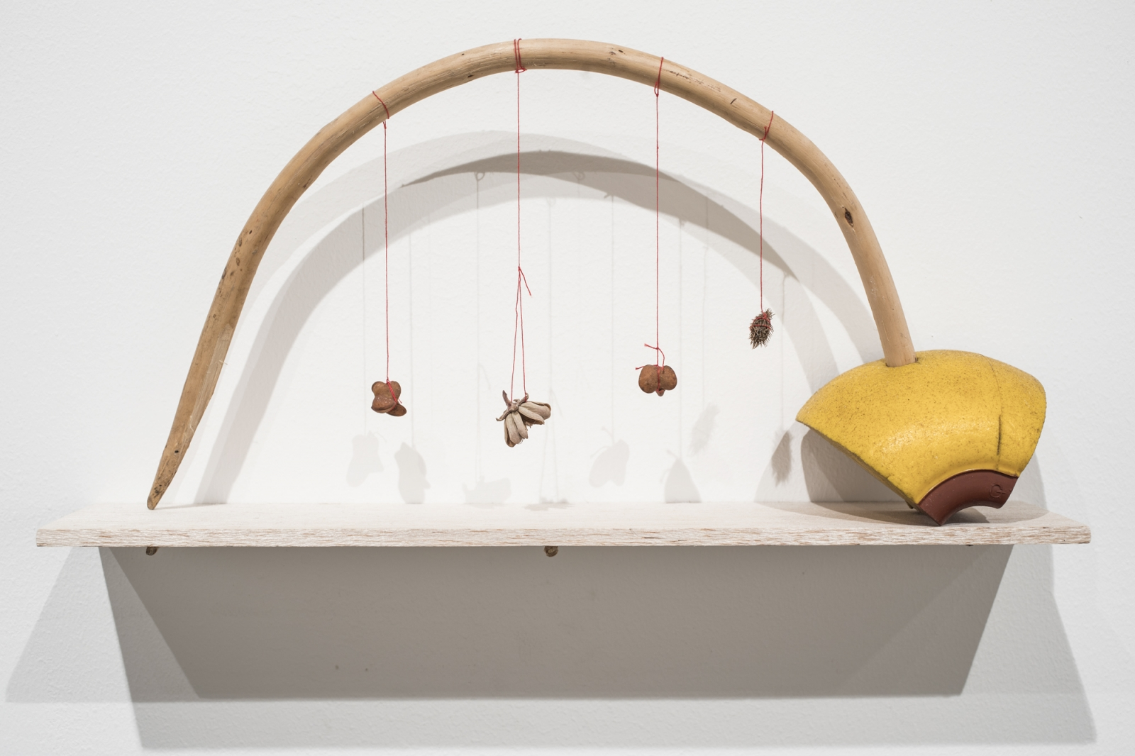 Cecilia Vicuña: About to Happen, Installation view,Berkeley Art Museum and Pacific Film Archive, University of California