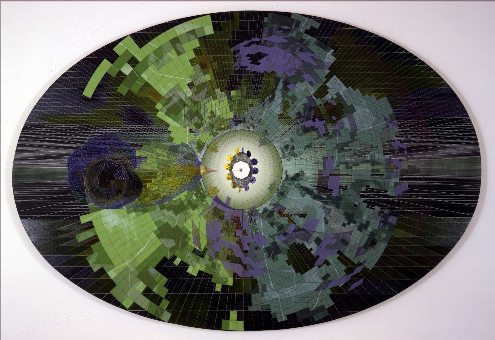 PEDRO BARBEITO, Dark Matter, A Non-Baryonic Structure, 1999