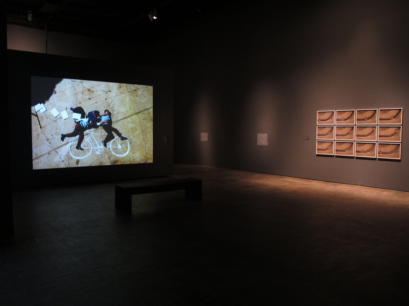 Robin Rhode, Animating the Everyday, Installation view