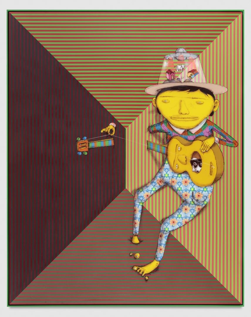 OSGEMEOS The history of the countryside, 2017
