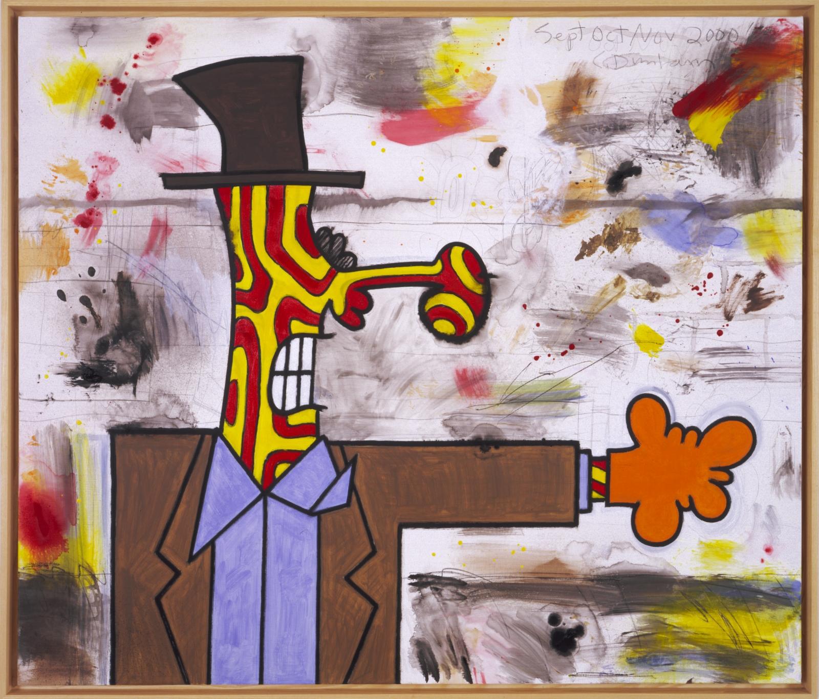 CARROLL DUNHAM Orange glove, 2000