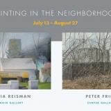 Painting in the Neighborhood - Celia Reisman & Peter Fried