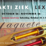 Projects Gallery - Bhakti Ziek will be in the gallery Saturday, 26th & December 3rd.  Show extended thru December, 10th