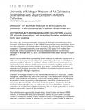 University of Michigan Museum of Art Celebrates Bicentennial with Major Exhibition of Alumni Collectors