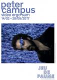 Peter Campus (Video ergo sum) au Jeu de Paume